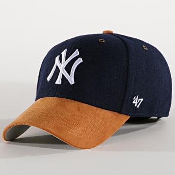 Casquette New York Yankees Willowbrook MVP WLOBM17WMS Bleu Marine