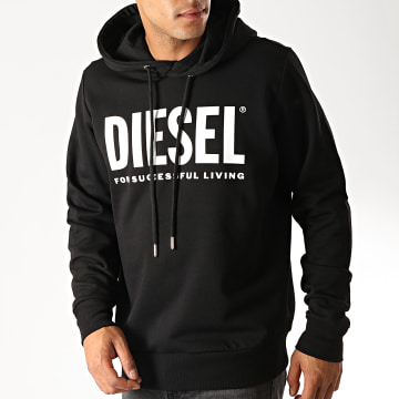 Diesel - Sweat Capuche Hood Division 00SAQJ-0BAWT Noir