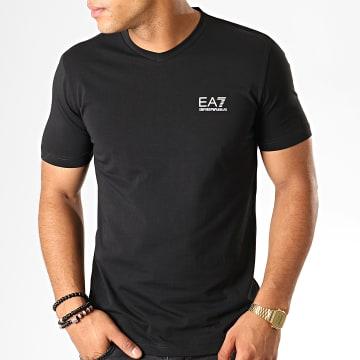 Tee Shirt Col V 8NPT53-PJM5Z Noir