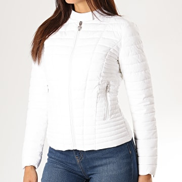 Veste Zippée Femme W94L0S-W6NW0 Blanc
