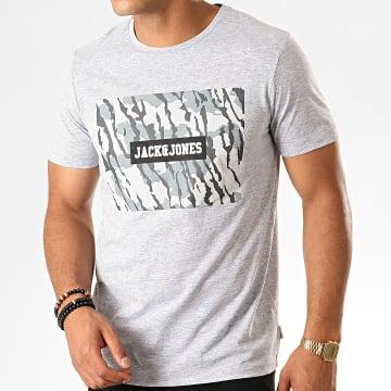 Tee Shirt Camouflage Raimi Gris Chiné Noir Blanc