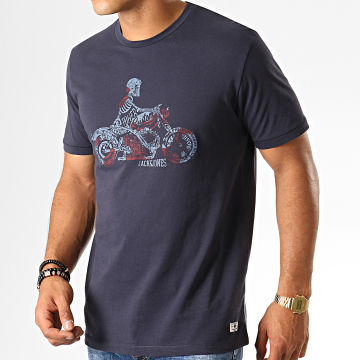 Tee Shirt Riders Bleu Marine
