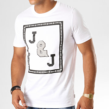 Tee Shirt Tauri Blanc Noir Gris