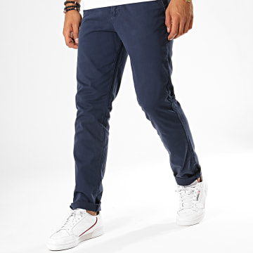 Jack And Jones - Pantalon Chino Roy James Bleu Marine