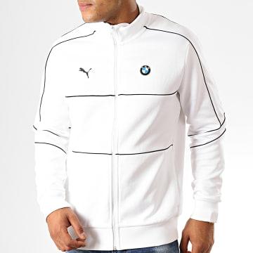 Veste De Sport Zippée BMW Motorsport T7 595186 Blanc
