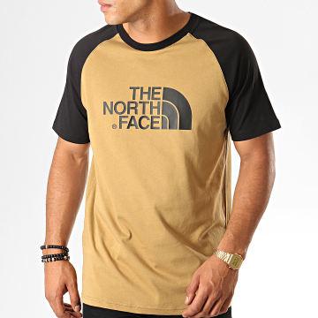 Tee Shirt Raglan Easy 37FV Camel