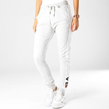 Pantalon Jogging Femme A Bandes Freya 687091 Gris Chiné