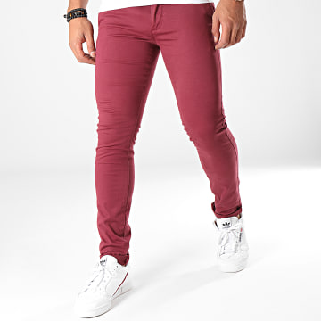 Pantalon Chino Liam Leroy Bordeaux
