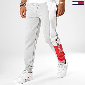 Pantalon Jogging Avec Bande Graphic Flag 0205 Gris Chiné