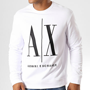 Armani Exchange - Sweat Crewneck 8NZMPA-ZJ1ZZ Blanc