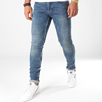 Only And Sons - Jean Skinny Warp Bleu Denim
