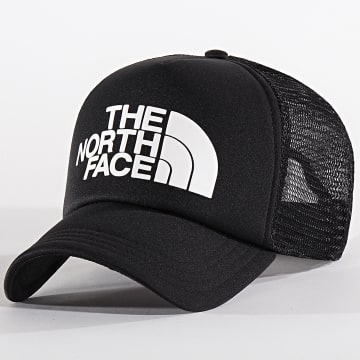 The North Face - Casquette Trucker Logo 3FM3 Noir Blanc