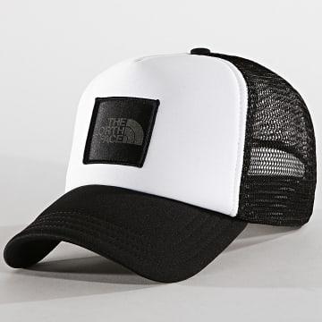 Casquette Trucker TNF Logo Blanc Noir