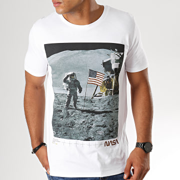 Tee Shirt For Mankind Blanc