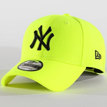 Casquette 9Forty Neon Basic 12150294 New York Yankees Jaune Fluo