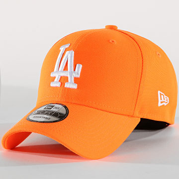 New Era - Casquette 9Forty Neon Basic 12150295 Los Angeles Dodgers Orange Fluo