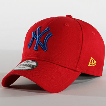 New Era - Casquette 9Forty League Essential 12150301 New York Yankees Rouge Bleu