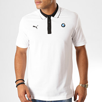 Polo Manches Courtes BMW Motorsport 595191 Blanc