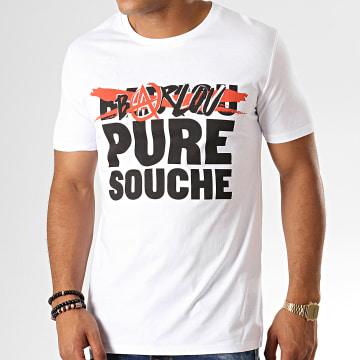 Neochrome - Tee Shirt Barlou Pure Souche Blanc