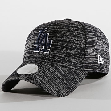 New Era - Casquette Femme 9Forty Engineered Fit 12040163 Los Angeles Dodgers Bleu Marine Chiné