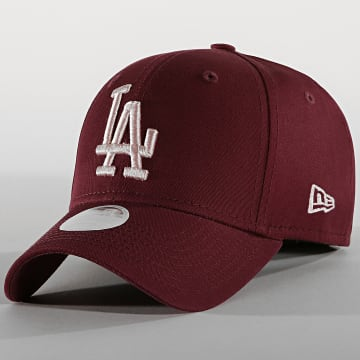 New Era - Casquette Femme 9Forty League Essential 12040439 Los Angeles Dodgers Bordeaux