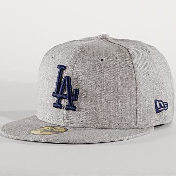 Casquette Fitted 59Fifty 12040473 Los Angeles Dodgers Gris Chiné