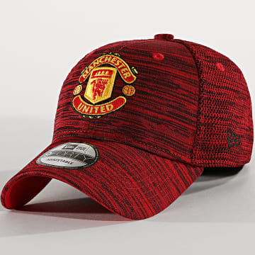 New Era - Casquette 9Forty 12040488 Manchester United Rouge Chiné