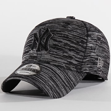 New Era - Casquette 9Forty Engineered Fit 12040526 New York Yankees Gris Anthracite Chiné