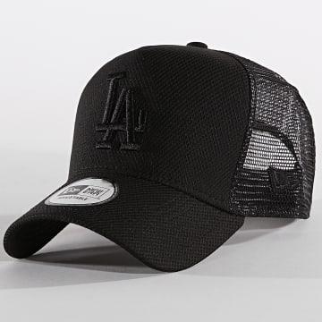 Casquette Trucker Diamond Era 12040558 Los Angeles Dodgers Noir