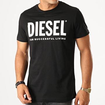 Diesel - Tee Shirt Diego Logo 00SXED-0AAXJ Noir