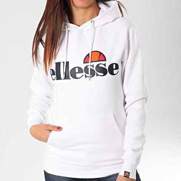 Sweat Capuche Femme Torices Oh SGS03244 Blanc