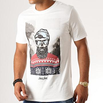 Tee Shirt Slim Skoll Ecru