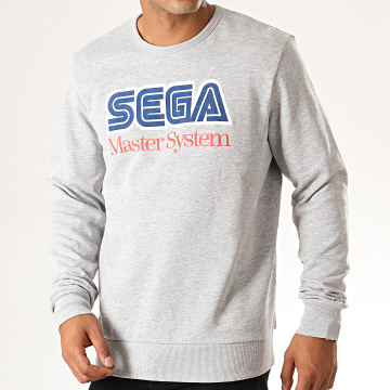 Jack And Jones - Sweat Crewneck Gaming Gris Chiné