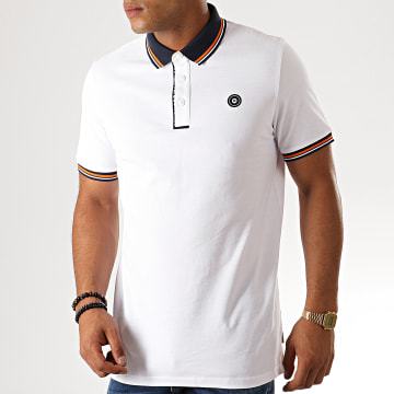 Jack And Jones - Polo Manches Courtes Challenge Blanc
