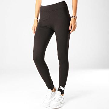 Legging Femme Essentials 853462 Noir Argenté