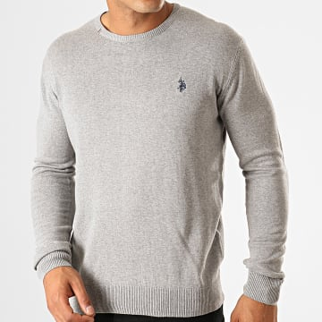 Pull Robin Round N Gris Chiné