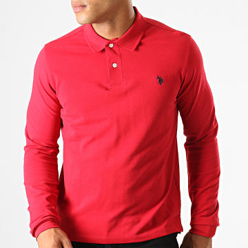 Polo Manches Longues Institutional Rouge