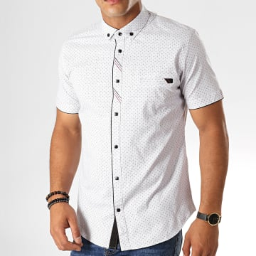 Chemise Manches Courtes Y-3400 Blanc