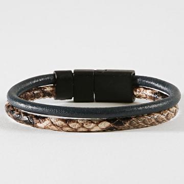 Bracelet 84 Noir Marron