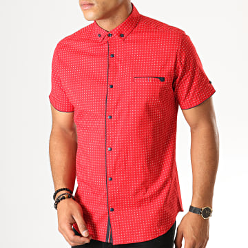 Chemise Manches Courtes Y-3397 Rouge
