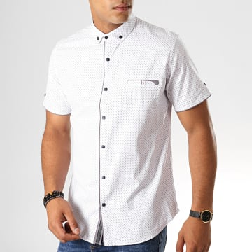 Chemise Manches Courtes Y-3397 Blanc