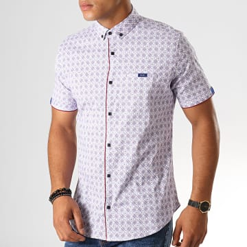 Chemise Manches Courtes Y-3399 Blanc