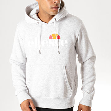 Sweat Capuche 1032N Gustave Gris Chiné