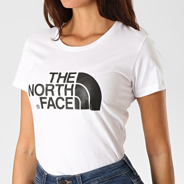 The North Face - Tee Shirt Femme Easy C256 Blanc