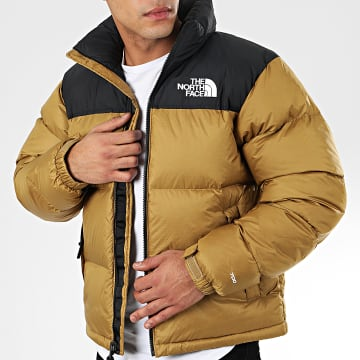 The North Face - Doudoune 1996 Retro Nuptse 3C8D Camel Noir