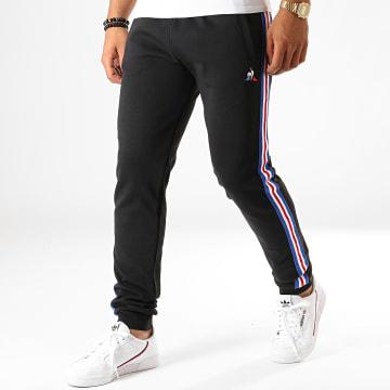 Pantalon Jogging Slim A Bandes Tricolore N3 1921930 Noir