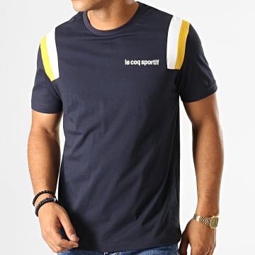 Le Coq Sportif - Tee Shirt Tricolore N5 1922176 Bleu Marine
