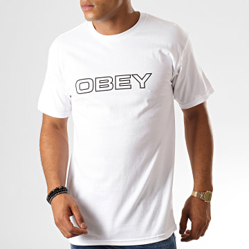 Obey - Tee Shirt Ceremony Blanc