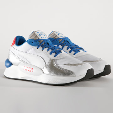 Baskets RS 9 8 Space Agency 372509 Puma White Puma Silver