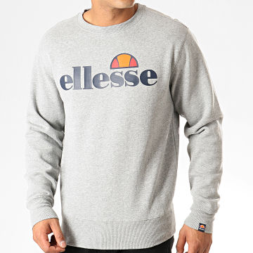 Ellesse - Sweat Crewneck Succiso SHC07930 Gris Chiné